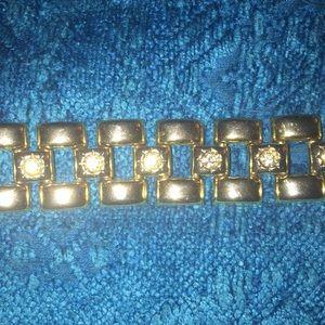 Vintage Link CZ Bracelet